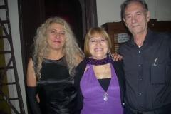 Amalia Rossi, Julia Bugallo y Miguel Bogossian. Ateneo Mdeo