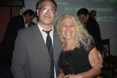Chino Laborde y Amalia Rossi en Buenos Aires (Argentina)